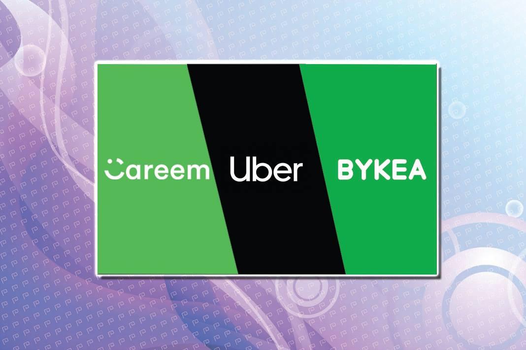 Careem, Uber & Bykea Online