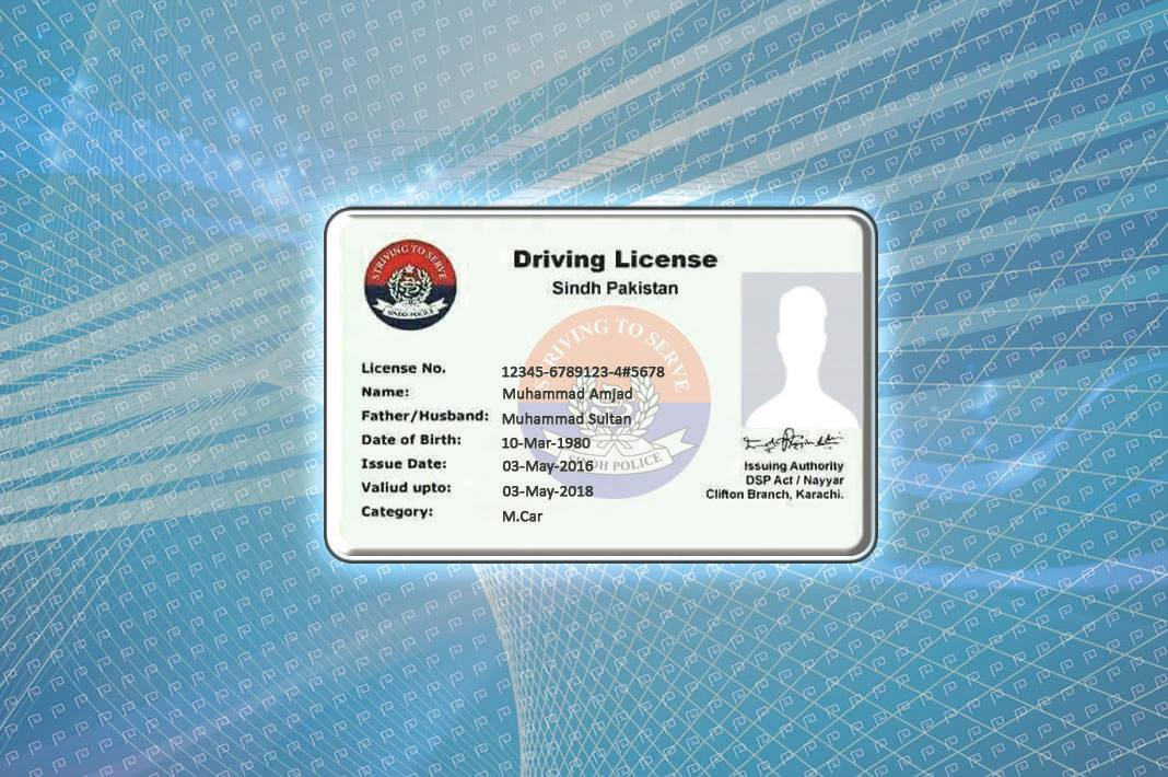 Renew your Driving License in Karachi