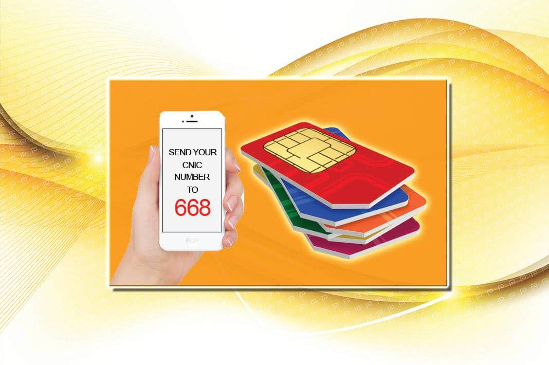 Know the Total SIMs Issued on Your CNIC